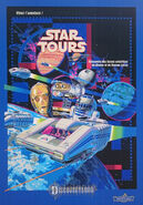 Star Tours DLP poster