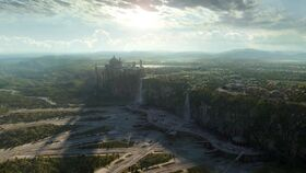 Theed spaceport