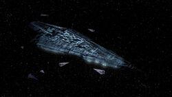 Félkész Executor–császár flottája