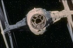 TIE Fighter close