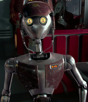 WA-7 waitress droid