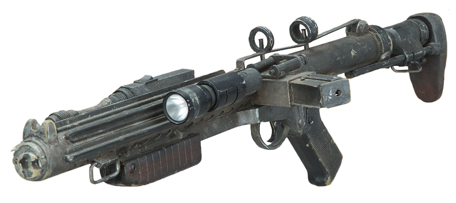 BLACK Imperial Blaster//Gun Weapon GREAT Replacement Star Wars