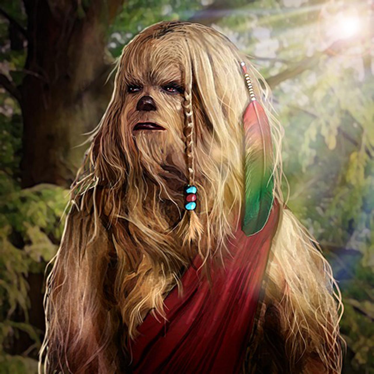 Star Wars On-Topic Wookiee_Female_SOC