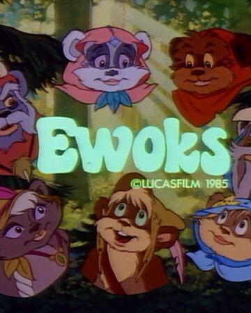 Tv Dvd Kast.Ewoks Tv Series Wookieepedia Fandom