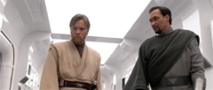 Obi-Wan Kenobi and Bail Organa Discuss The Situation