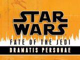 Fate of the Jedi: Dramatis Personae