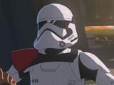 Unidentified First Order stormtrooper commander