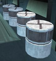 Plasteel cylinders