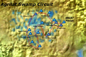 Agrilat Swamp Circuit Map