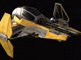 Anakin Skywalker's Eta-2 Actis-class interceptor