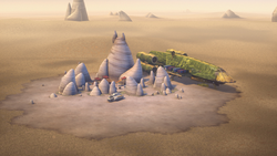Broken Horn camp