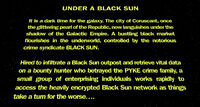Unde a Black Sun crawl