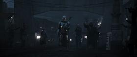 Bounty Hunters Surround The Mandalorian