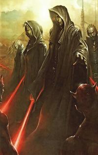 L'arrivo degli Jedi Oscuri fra i Sith