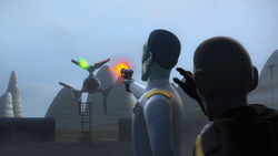Thrawn vs Defender Elite