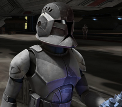 Stealth operations clone trooper