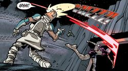 Wolffe scarred