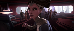 Amidala winds up for the KO