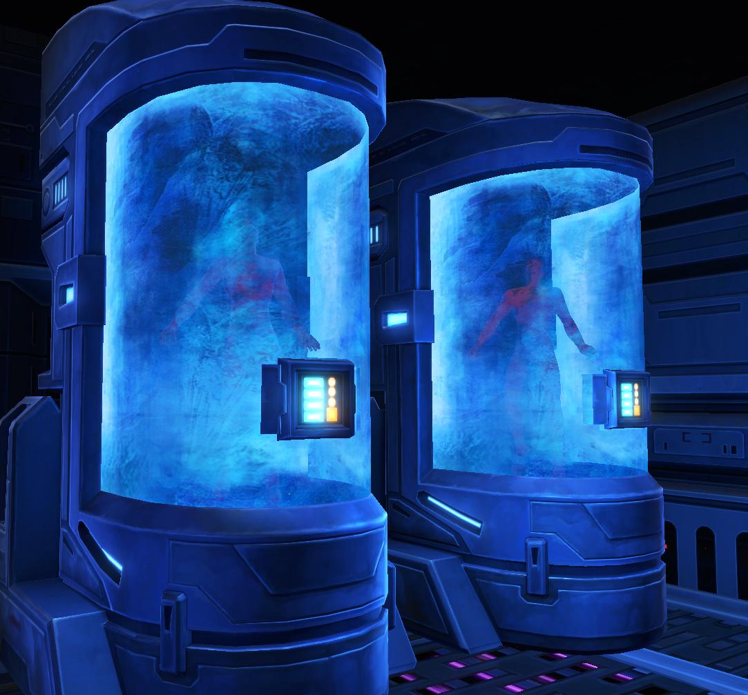 Cryogenic hibernation capsule | Wookieepedia | Fandom