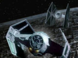 Darth Vader's TIE Advanced x1