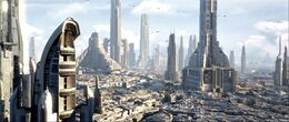 Coruscant skyline1