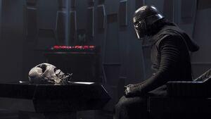 Kylo Ren Vader Helmet Chamber