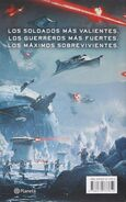 Star Wars Battlefront La Compania Twilight back cover