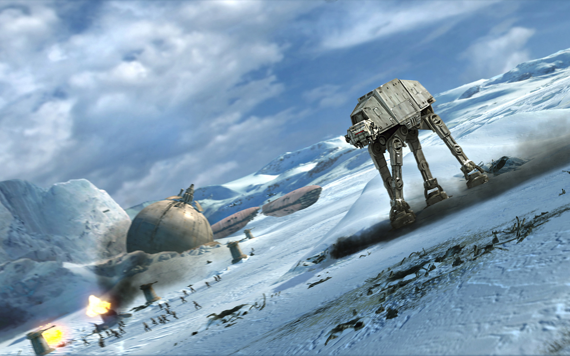 Battle Of Hoth Star Tours