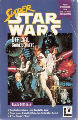 Super Star Wars Official Game Secrets
