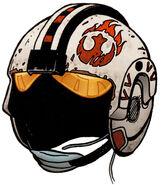 Tycho Celchu helmet