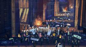 Coruscant riot