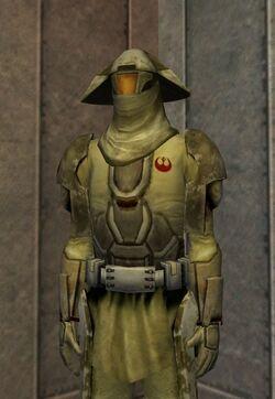 Rebel Desert Trooper