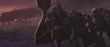 Bad Batch vs battle droids