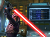 Duel in the Jedi Temple ruins
