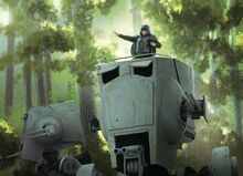 AT-ST Commander TCG by David Nash