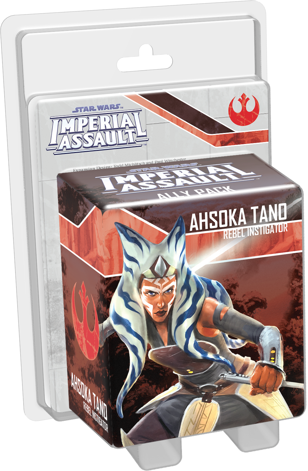Star Wars Imperial Assault Ahsoka Tano Ally Pack