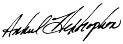 Hextrophon autograph