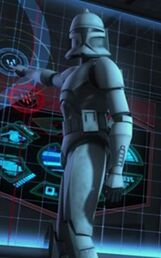 Unidentified clone trooper (Resolute)