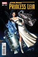 Star Wars Princess Leia Vol 1 1 J Scott Campbell Variant