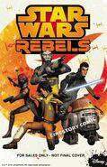 Star Wars Rebels Cinestory Comic