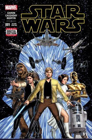 File:Star Wars Vol 2 1 2nd Printing Variant.jpg