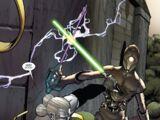 Jedi training droid