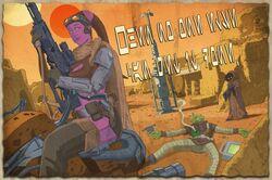 Bounty Hunters Guild propaganda poster