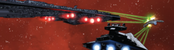 SW 50 Executor and Willard ship