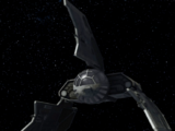 Darth Sidious' Eta-class shuttle