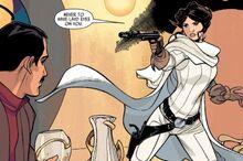 Leia confronts Junn