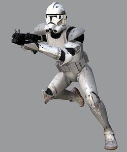 Clone Trooper Coruscant