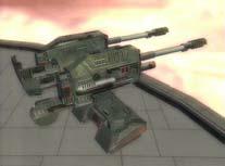 Concussion cannon turret
