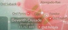 Eleventh Pius Dea Crusade