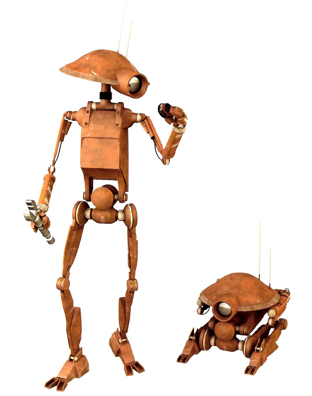Dum series pit droid wookieepedia fandom powered by wikia - Robot blanc star wars ...
